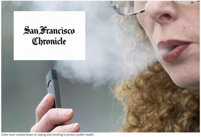 San Francisco Chronicle - Use Technology to Reduce Spread of Secondhand Smoke
