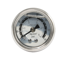 Fuel Pressure Regulator Liquid Fill Oil Gauge