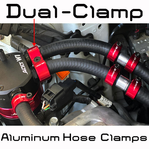 Z Oil Catch Can Parts - Aluminum Hose Clamps Dual for V3,V3.3