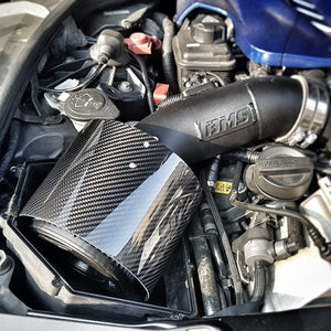 "Air Filter Carbon Fiber Heat shield Cover 3""- 4"" Inlet"