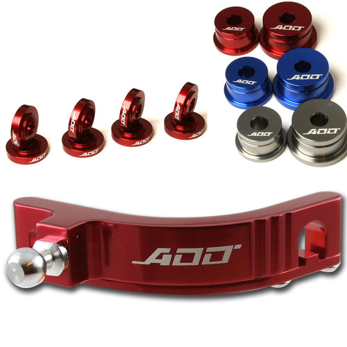 ADD W1 Honda Civic Si EP3 2002-2005 Short shifter + Base Bushings + Cable Bushings Kit