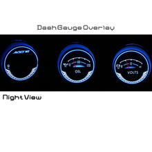 350Z gauge cluster blue white