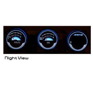 KM/H ADD W1 Nissan 350z Overlay Face Gauge 2003-2008 3D Illusions