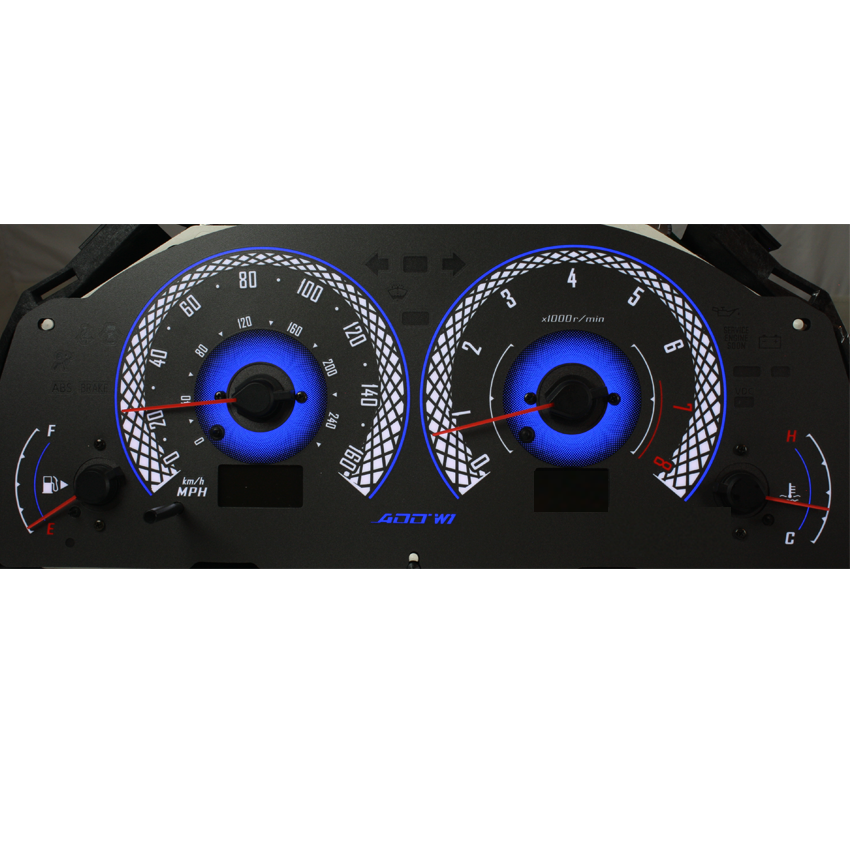 ADD W1 Infiniti Overlay Face Gauge G35 2003-2004 - 3D look