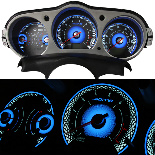 ADD W1 Nissan 350z Overlay Face Gauge 2007-2008 - 3D Illusions