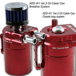 Baffled Oil Catch Can V2-Universal