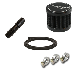 Z Oil Catch Can Parts - Breather Relocation Kit