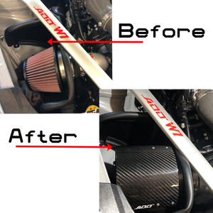 Stinger 2.0 carbon intake system after