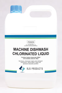 Machine Dishwashing Chlorinated Liquid