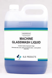 Machine Glasswash Liquid (Blue)