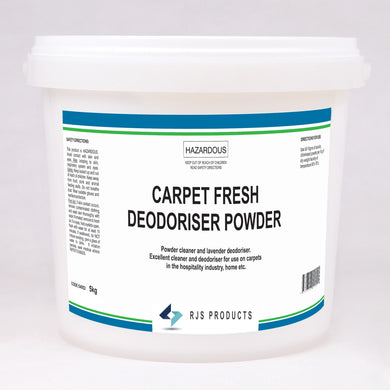 Carpet Fresh Deodoriser Powder - w/Lavender Fragrance