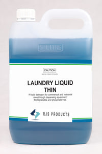 Laundry Liquid Thin