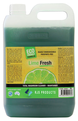 Lime Fresh - Concentrated Washroom Cleaner & Maintainer
