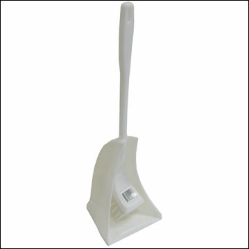 Toilet Brush with Handle (white)