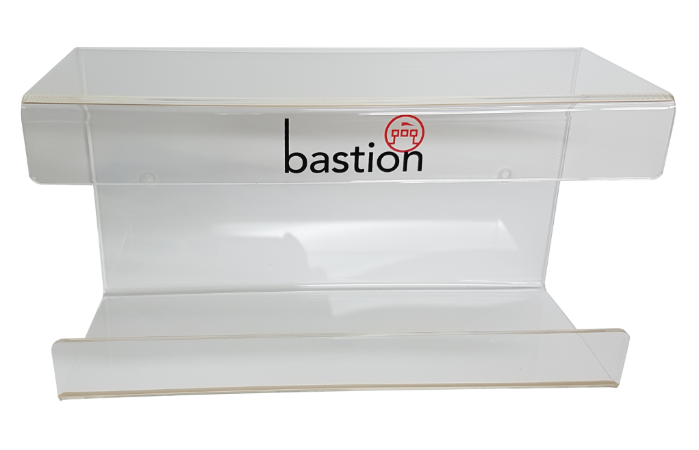 Bastion Single Acrylic Glove Dispensers