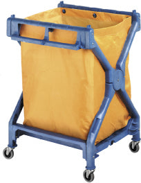 Deluxe Plastic Scissor Trolley Complete with Bag