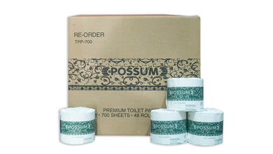Possum Premium Toilet Paper 700sheet 2ply 48rl