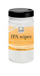 IPA Surface Disinfection Wipe Tub 75pc 12tubs/ctn