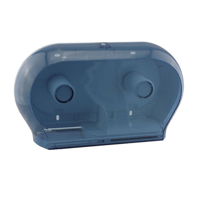 Twin Jumbo Toilet Roll Dispenser (plastic)