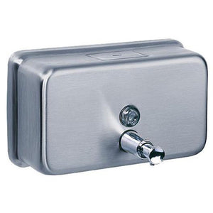 Horizontal soap dispenser Stainless Steel