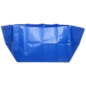 Blue Poly bag for Waste Trolley