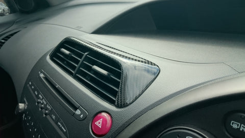 FN2 Air Vent Cover - Carbon Fibre - Civic MK8 2006-11