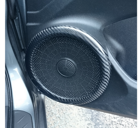 FN2 Speaker Ring Cover - Carbon Fibre - Civic MK8 2006-11