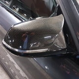 BMW M Style Wing Mirror Caps - Carbon Fibre - F Series BMW F21 F20 F22 F30 F33