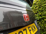 FN2 Rear Cluster Cover - Carbon Fibre - Civic MK8