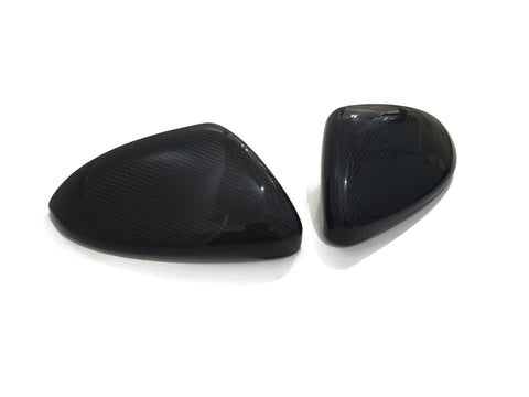 VW Golf MK7 Wing Mirror Caps - Carbon Fibre