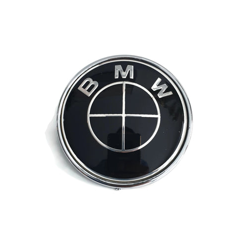 BMW Black Steering Wheel Badge - F20 F21 F22 F87 F32