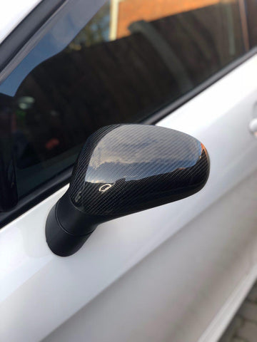 Seat Leon MK2 Wing Mirror Covers - Carbon fibre