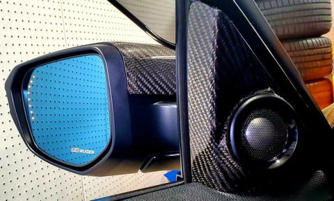 FK8 Tweeter covers - Carbon Fibre - Civic MK10