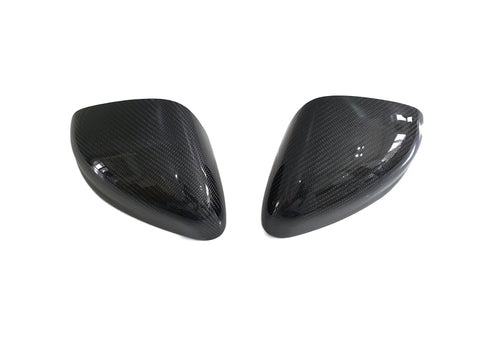 Ford Fiesta MK8 Wing Mirror Covers - Carbon fibre