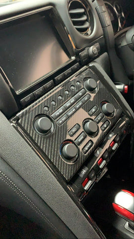 Nissan GTR35 Dashboard Cover - Carbon Fibre