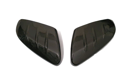 FK8 Mugen Style Wing Mirror Covers - Carbon Fibre - Civic