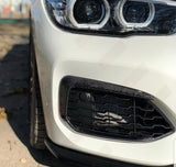 BMW M140i Front Fog Opening Garnishes (Canards) - Carbon Fibre - F21 F20
