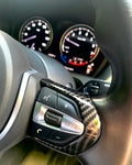 BMW M Sport Steering Wheel Button Trim Covers