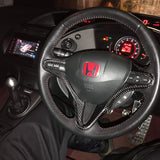 FN2 Steering Wheel Cover - Carbon Fibre - Civic MK8 2006-11