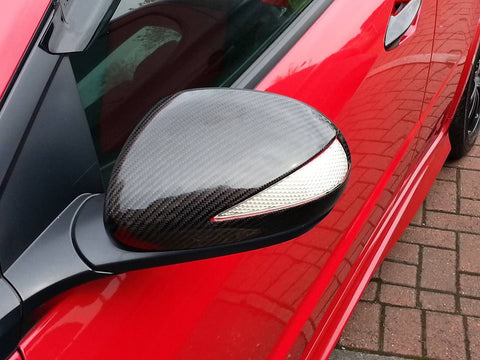 FN2 Wing Mirrors - Carbon Fibre MK8 Civic