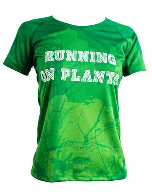 Running on plants