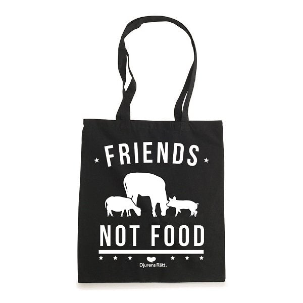 Tygkasse Friends not food
