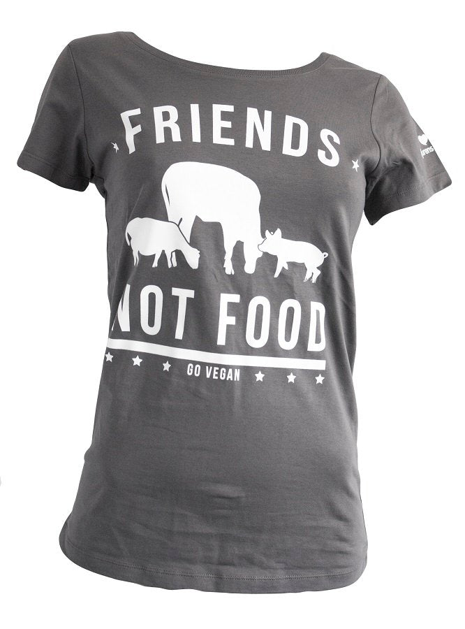 Friends not food - mörkgrå