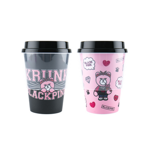 BlackPink Reusable Tumbler Set