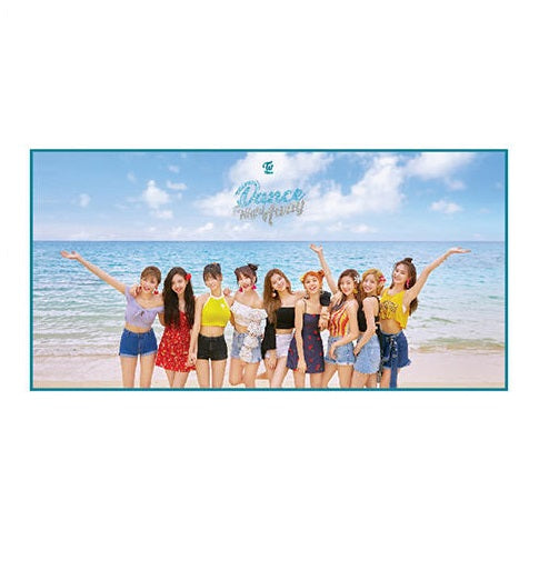 TWICE Summer Pop-Up Beach Towel