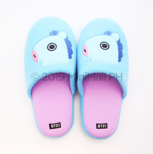 BT21 APPLIQUE SLIPPERS