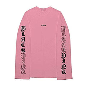 BLACKPINK Long Sleeve T-Shirt - Pink