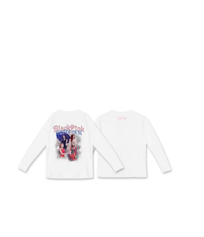 [IN YOUR AREA] BLACKPINK Official Long Sleeves - White