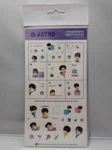 Transparent Deco Stickers - ASTRO