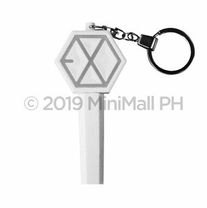 EXO Mini Key Ring White